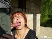 Fifty-hot-Lady – Outdoor Blowjob