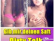 HoneyDiamond – Gib mir dein Saft -Dirty Talk