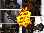 Aileen-Taylor – X-TREME NYLON HEELS DIRTY TALK!