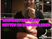 Selina-666 – !SKANDAL! BLOWJOB MITTEN IM BURGER LADEN