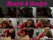 dirty-esmeralda – Blowjob & Handjob