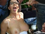 raunchyminx – DOGGING IN THE WOOD'S TILL IM COVERED IN SPUNK