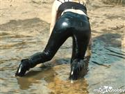 destinyqueen – lack outfit outdoor