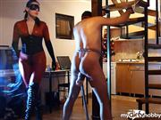 Sadistra – New Year's whipping pain – part one