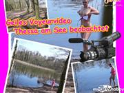 Thessasweet – Voyeurvideo am See