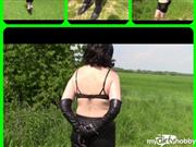 bondageangel – In handcuffs and rubber boots