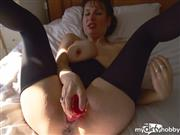 SEXbombKAY – All alone with my dildo