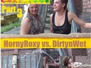 HornyRoxy – Outdoor Piss Challenge Part 3