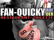 TiffanyAngel – Fan-Quickie auf der Restaurant-Toilette