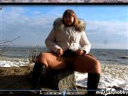 IrishkaVirt – I was without panties  in  pantyhose !!!