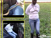 bondageangel – Transport, hogtied and walk in wet jeans and ropes.
