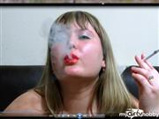 IrishkaVirt – Smoke))) face – closeup ))), And naked Boobs!