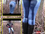 bondageangel – This year's first outdoor pissing