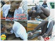 Angel-Desert – Public Park – Great FootJob (Full Video)