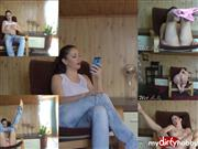 Wet-Kelly – Jeans fetish masturbation