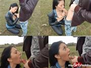 ErikaAnderson – Leather jacket tits out big cumshot outdoor