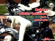 Xozt – Rubber bitchs outdoors part 1 – motorcycle