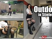 LadyAlshari – Outdoor in Stiefeln