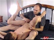 DevonRiderX – Twink boy edged and milked with post cum polishing