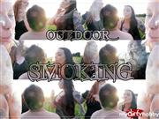 MiaCandy – Outdoor Smoking
