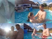 Julia18darf – User-Fick bei der Poolparty!!