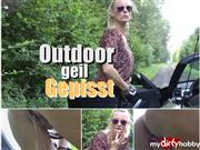 Dirty-Tina – Outdoor geil gepisst !