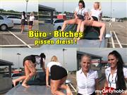 Mira-Grey – Büro-Bitches pissen dreist !