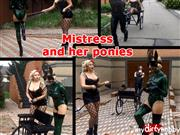 Xozt – Mistress and her ponies.
