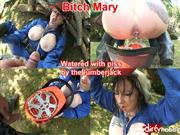 BitchMary – Watered with piss by the lumberjack