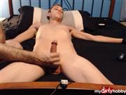 DevonRiderX – Edging, dick head teasing, and post cum play