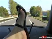 frenchheels – Maultiere High Heels lackiert