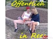Double_Trouble – Öffentlicher Piss-Dildofick in Rees