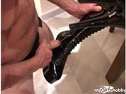 deliciadeity – CUM ON MY BOOT & LICK IT