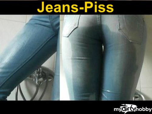 Sybella in Jeans-Piss