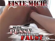 GINA-BANG – FISTE mich – Meine PUSSY brauch die FAUST