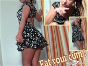 Andrea18 – Eat your cum !