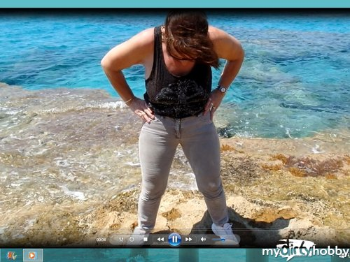 birgitta56 in NS Clip In die Jeans am Meer