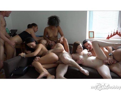Studenten Sexparty