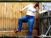 IrishkaVirt – pissing in a dirty and stinky jeans! day 3 ))) desire user's  –  law )