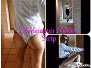Lady_Demona – Nylon Strip der Domina?
