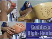 Mira-Peach – Goddess High- Heels!