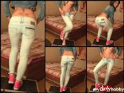 Glamour-Bitch – Jeans Sneaker piss