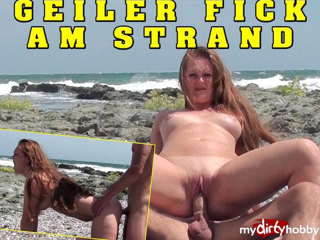 Geiler Fick Am Strand