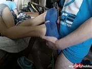 Sertiel – Hot sweaty ankle socks jerking off