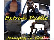 Double_Trouble – Extrem Public -Jeanspiss in Goch