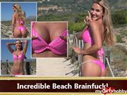 seXXygirl – Incredible Beach Brainfuck!