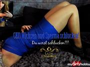 Lady_Demona – CEI! Wichsen und Sperma schlucken!   | by Lady_Demona