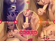 HeisseAnke4U – Dildo in Action