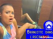 Alice-Axx – Masturbation in the elevator